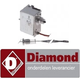 533375996 - Maximaalthermostaat uitschakeltemp. 225°C gas friteuse DIAMOND  F15+15G/M