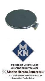 447490015 - Kookplaat Rond ø 180mm 1500W 400V voor MKN