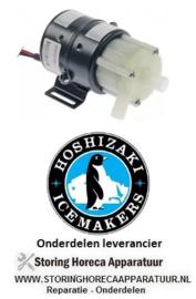 265499332 - Magneetpomp KITASHIBA type LMP-25CP 26/30W 100V 50/60Hz ingang ø 16mm uitgang ø 14mm L 140mm HOSHIZAKI