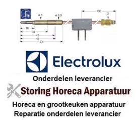 115102068 - Thermokoppel met onderbreker M9x1 L 320mm steekhuls ø6,0mm soldeeraansluiting ELECTROLUX