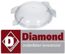 552F2702 - Deksel compleet met afdichtingsrubber voor aardappelschilmachine DIAMOND PPF-18