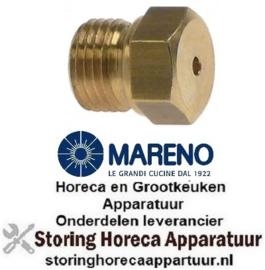 298.100.466 - Gasinspuiter draad M10x1 SB 12 boring ø 0,95mm MARENO