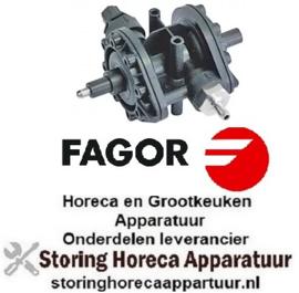 140361221 - Doseerapparaat type N6 glansspoelmiddel drukaansluiting ø 4x6mm zuigaansluiting ø 6x8mm FAGOR