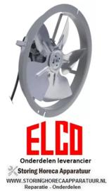 925601.716 -  Ventilator 230V 10W 50/60Hz ventilatorblad ø 230 mm