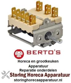 VE847300004 - Nokkenschakelaar 7 schakelstanden voor BERTOS