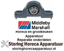 316523053 - Kogellager ø 15,7mm B 31mm L 127mm LA 96mm Middleby-Marshall