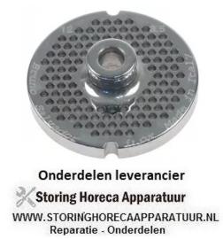 129696113 - Gatenschijf type ENTERPRISE grootte 12 gat ø 3,5mm met naaf 2 RVS ø 70 mm