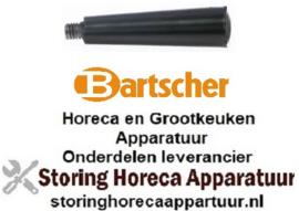 493697834 - Konusgreep kunststof draad M6x1 ø 13mm voor Bartscher