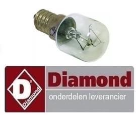 610.0195.0108.400 - Gloeilamp t.max. 300°C D convectie oven DIAMOND BRIO-64/X
