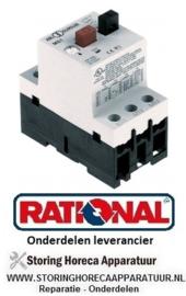 28230310105 - Motorbeschermschakelaar type Mbs25-016 instelbereik 1-1,6A (AC3/400V) 0,55kW RATIONAL