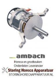 826501587 - Ventilatormotor 220-240V fasen 1 50/60Hz 0,55kW  AMBACH