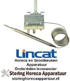 4365517039010 - Thermostaat t.max. 190°C instelbereik 130-190°C 1-polig 1NO 16A voeler ø 6mm voeler L 115mm LINCAT