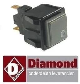 373RTFOC00387 - Drukschakelaar voor licht oven DIAMOND PFE 5D