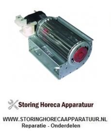 235601036 - Dwarsstroomventilator 22watt -  120mm links