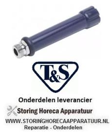 """264594279 - Handvat T&S aansluiting blauw voor handdouche BD 3/4""""-14 UN OD 1/2"""""""
