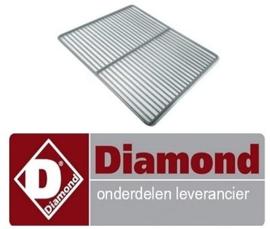13546502003  - Gerilsaniseerde rooster GN 1/1 koelwerkbank DIAMOND DTS-10/R2