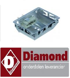 123LC-050 - LAMPHOUDER VOOR HALOGEEN LAMP VAN DFV  DIAMOND DFV-423/S