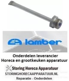 1300300006 - RVS voelerbuis L 107mm RVS voor vaatwasser LAMBER
