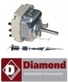VE338375097 - Thermostaat t.max. 195°C Diamond frituur E65-F20-7T(9+9KW)