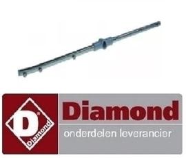 646993064 - Naspoelarm compleet inbouwpositie onder DIAMOND D86