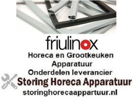 398901525 - Koeldeurrubber B 570mm L 1500mm steekmaat voor koeling Friulinox