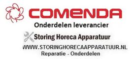 COMENDA - HORECA EN GROOTKEUKEN APPARATUUR REPARATIE ONDERDELEN
