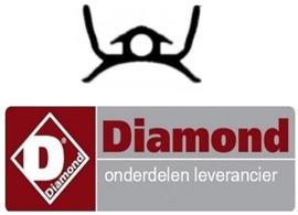 291163888 - Deurrubber zijkant oven gasfornuis DIAMOND  G77/4BF7-N