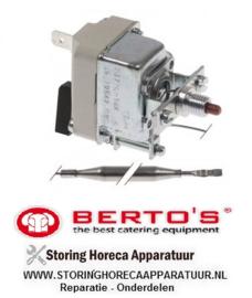 03132070300 - Maximaalthermostaat uitschakeltemp. 235°C BERTO'S 6GL18B