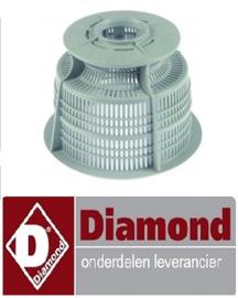 151121081 - Rondfilter afvoer DIAMOND D701-EKS