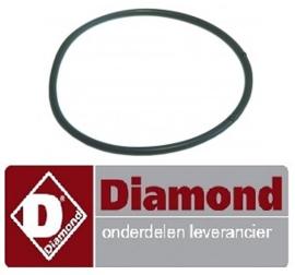 664456040 - Pakking rubber voor afvoer vaatwasser DIAMOND D26EKS-NP