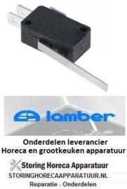 9600300141 - Microschakelaar met hendel bediend door hendel 250V 16A voor vaatwasser LAMBER