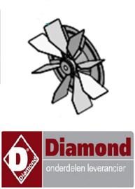 125S0020-00 - SCHOEP VOOR MOTOR-Ø180/H=40 DIAMOND DFV-423/S