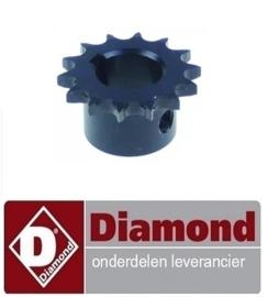 133A96ZH00012 - Kettingtandwiel bakkers trog DIAMOND NT10/G-(230/1)