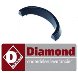 2234.0.075.0064 - Voet L 218mm H 40mm bevestigingsafstand 160mm voor rooster B 75mm DIAMOND GR42