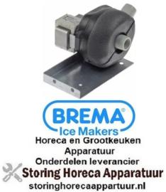 684501519 - Afvoerpomp 30W 220-240V ingang ø 24mm uitgang ø 24mm 50Hz type DPS25-383N HANNING