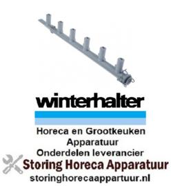 669517744 - Wasarm L 565mm sproeiers 6 voor vaatwasser Winterhalter
