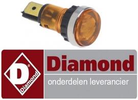 29666304400 - Signaallamp oranje voor Bakplaat DIAMOND