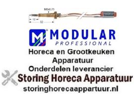 101102152 - Thermokoppel met twee geleiders L 750mm MODULAR