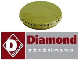993RTCU700375 - Branderdeksel voor 3.5KW gasfornuis DIAMOND