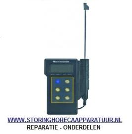 ST1800038 - Temperatuurmeter waterdicht meeteenheid °C/°F -50 tot +300°C voeler insteekvoeler