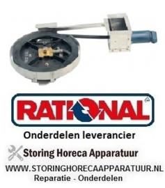 505541440 - Slanghaspel compleet met handdouche slanglengte 1,5 m RATIONAL