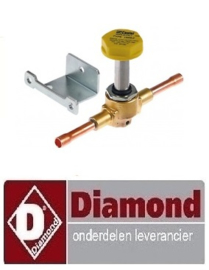 37020410 - Magneetventielhuis HEET GAS 220/50-60  DIAMOND ICE20A