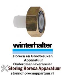 """575502131 - Slangaansluiting recht draad 3/4"""" vaatwasser Winterhalter"""