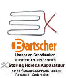 599416854 - Verwarmingselement 900W 230V CONTACTGRILL BARTSCHER