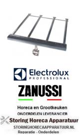 374105652 - kantel braadpan staafbrander 4-rijen  L 580mm B 545mm H 30mm  Electrolux, Zanussi