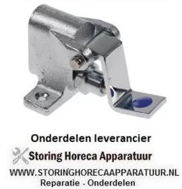 """534542240 - Voetpedaal ventiel koud water grondmontage aansluiting 1/2"""" met voetbediening H 77mm B 78mm"""