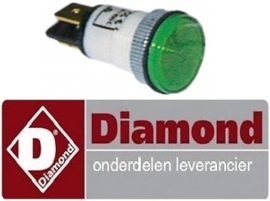 049.663.000.00 - Signaallamp groen voor fornuis DIAMOND E65/4PFV7