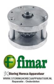 473SA4100 - Lagerblok voor deeghaken deegmenger compleet FIMAR 25-38 S-C-F