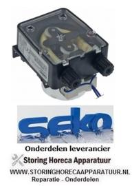 7933.619.54 - Doseerapparaat SEKO 3l/h 230 VAC wasmiddel slang ø 4x6mm slangtype K slang Santoprene