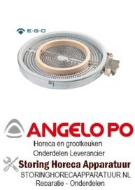 307490139 - Stralingselement ø 250mm 2500W 230V voor Angelo Po